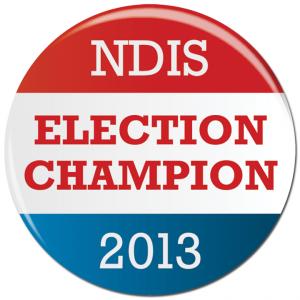 NDIS 2013 election champions