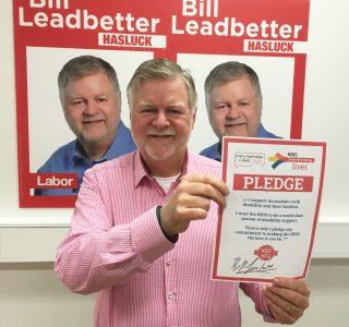 Bill Leadbetter, Labor for Hasluck