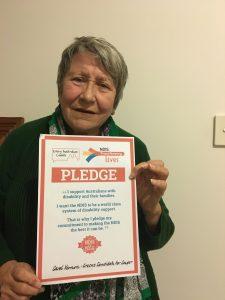 Carol Vernon, Greens for Cowper