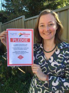 Cath Blakey, Greens for Cunningham