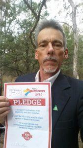 Ian Christoe, Greens for Murray