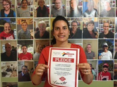 Laura Fraser Hardy, Labor for Bonner