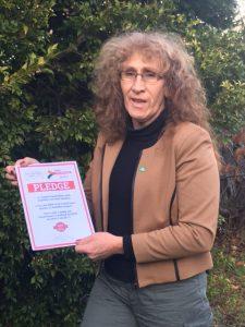 Martine Delaney, Greens for Franklin