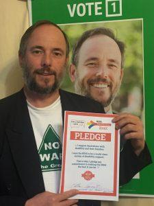 Matt Parmeter, Greens for Parkes