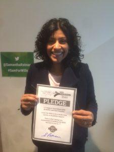 Samantha Ratnam, Greens for Wills