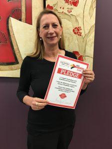 Sharon Bird, Labor for Cunningham