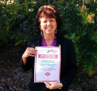 Sue Etheridge, Greens for Fairfax