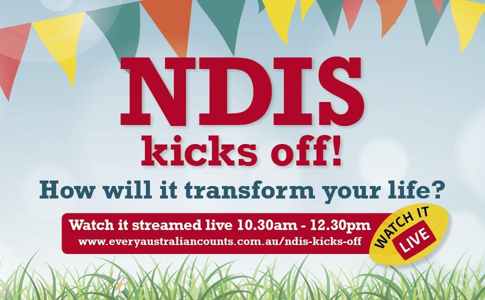 NDIS kicks off live stream
