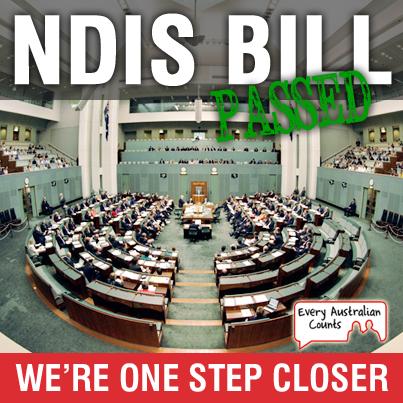 NDIS bill passes